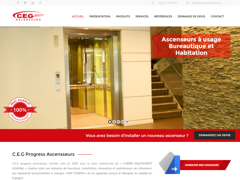 CEG Ascenseurs